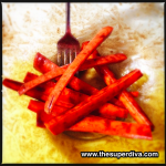 "Foodie Monday:  Baked Carrot ""Sweet Potato Fries"""