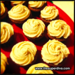Foodie Monday:  Bourbon Vanilla Bean Cupcakes with Salted Coconut Caramel Frosting