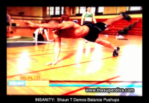 Balance Pushups with Shaun T