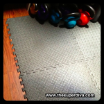 Fitness Friday: How to Make a Non-Skid Portable Workout Floor Mat