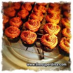 Foodie Monday: Carrot Apple Zucchini Mini Cupcakes with Chocolate Hazelnut Creme Frosting