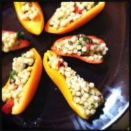 Foodie Monday: Mini Stuffed Peppers